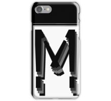The Alphabet  The letter M iPhone Case/Skin