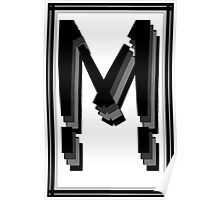 The Alphabet  The letter M Poster