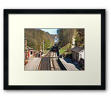 Approaching Goathland Station Framed Print
