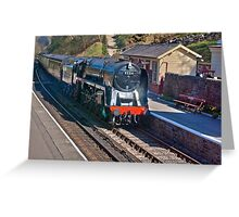 Goathland Station Greeting Card