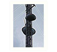 Cell Phone Tower Art Print