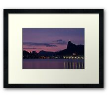 Urca`s Sunset Framed Print