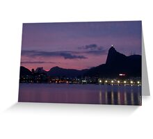 Urca`s Sunset Greeting Card