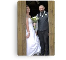 Mr and Mrs..... Canvas Print