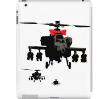Army Helicopter Ribbon Banksy iPad Case/Skin