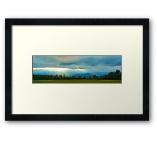 Looking to the Adirondacks Framed Print