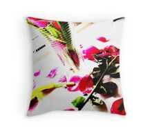 Brighter Petals.. Throw Pillow