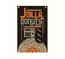 J DILLA DONUTS RIP Art Print