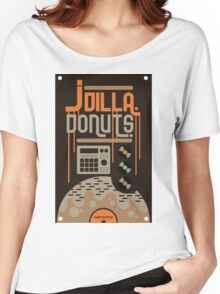 J DILLA DONUTS RIP Women's Relaxed Fit T-Shirt