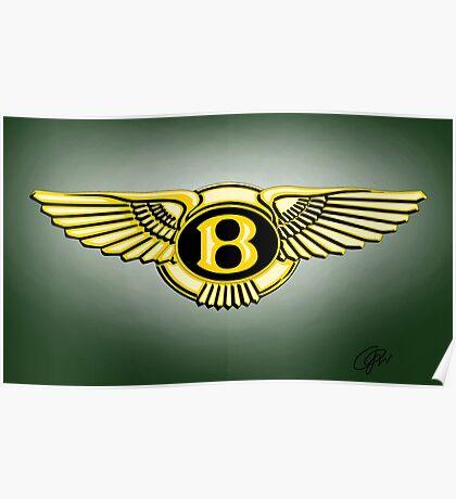 bentley logo Poster