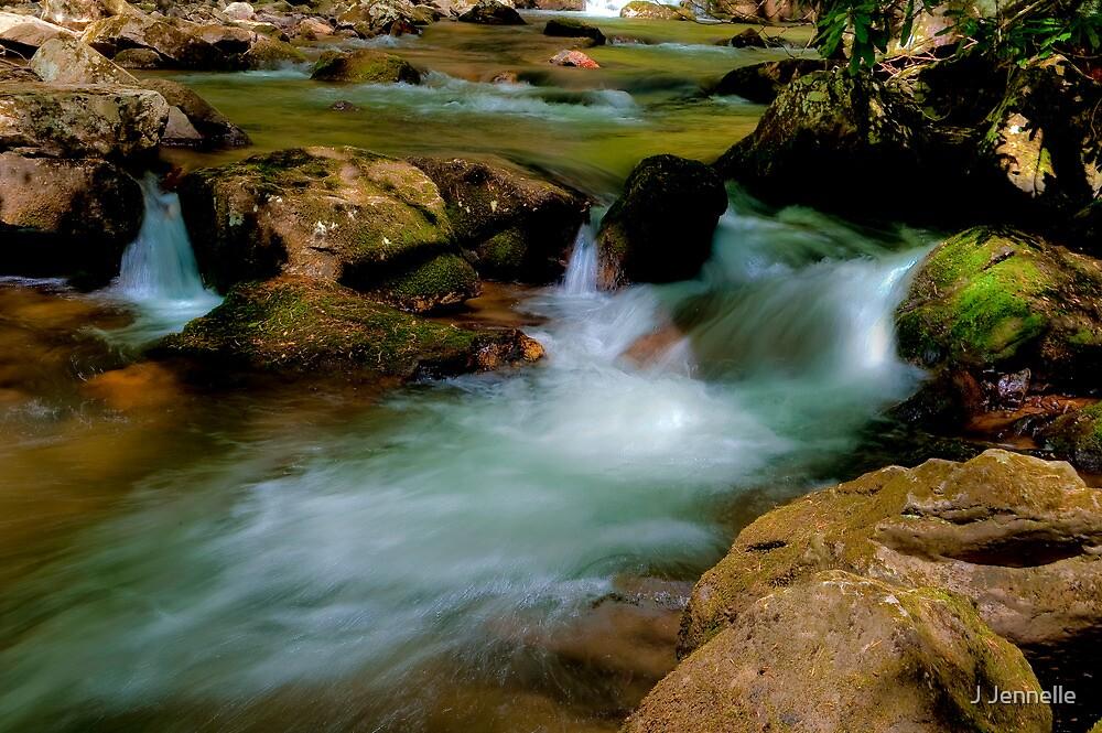 Babbling Brook by Joe Jennelle