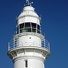 White Crown On Blue - Low Head Lighthouse by TonyCrehan