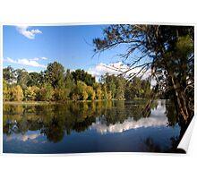 Minor lake in Yarramundi Reserve, NSW, Australia Poster