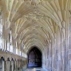 Gloucester Cathedral Cloisters by Nigel Fletcher-Jones