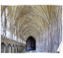 Gloucester Cathedral Cloisters Poster