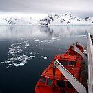 Landing in Antarctica by John Dalkin