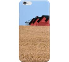 A field of barns iPhone Case/Skin