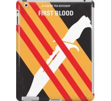 No288 My Rambo First Blood minimal movie poster iPad Case/Skin