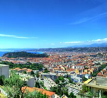 Nice (Nisa), Cote d'Azur, France by TigerOPC