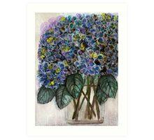 Flowers for Lorna Alice Viola - Kerry Beazley Art Print
