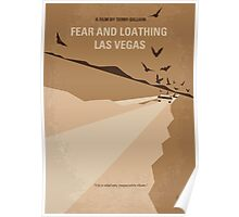 No293 My Fear and loathing Las vegas minimal movie poster Poster