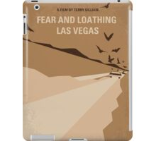 No293 My Fear and loathing Las vegas minimal movie poster iPad Case/Skin