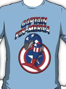 Captain Fin-merica T-Shirt