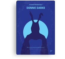 No295 My Donnie Darko minimal movie poster Canvas Print