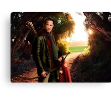OUAT in Camelot - Robin and Roland Canvas Print