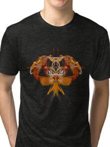 Alien Insect Tri-blend T-Shirt