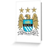 Manchester City Greeting Card