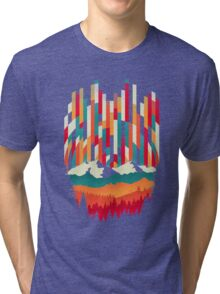 Sunset in Vertical  Tri-blend T-Shirt