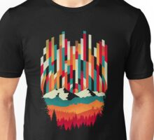Sunset in Vertical  Unisex T-Shirt