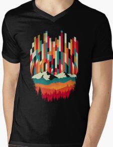 Sunset in Vertical  Mens V-Neck T-Shirt