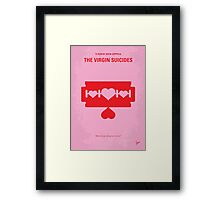No297 My The Virgin Suicides minimal movie poster Framed Print