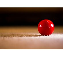Red Ball Photographic Print