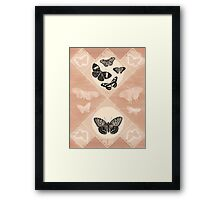 Fluttering in the Moonlight Framed Print