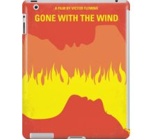 No299 My Gone With the Wind minimal movie poster iPad Case/Skin