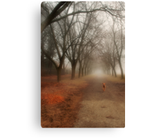 Anya in the Spring Fog Canvas Print