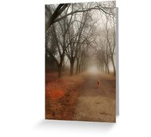 Anya in the Spring Fog Greeting Card