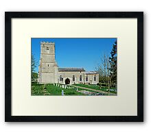 Church of St Mary, Grafton Regis Framed Print