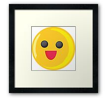 fun emote Framed Print
