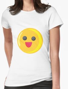fun emote Womens Fitted T-Shirt