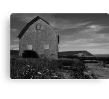 Potato barn, Blomidon, Nova Scotia Canvas Print