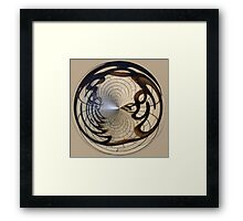 Urban art... trapped for ever Framed Print