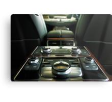 Audi A8L Interior Rear Metal Print