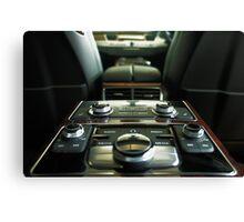 Audi A8L Interior Rear Canvas Print