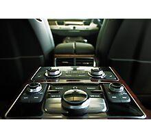 Audi A8L Interior Rear Photographic Print