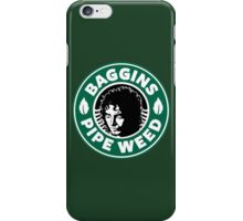 Baggins Pipeweed iPhone Case/Skin