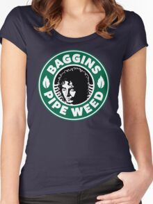 Baggins Pipeweed Women's Fitted Scoop T-Shirt